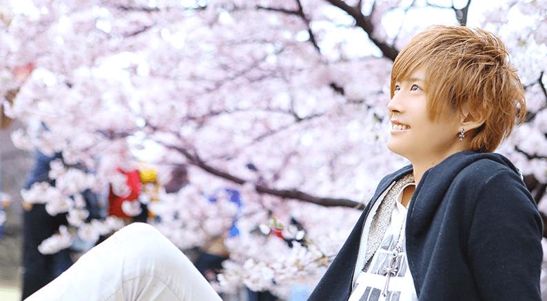 桜とホスト